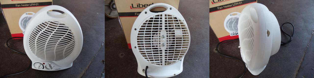 Тепловентилятор уценка LIBERTON LFH-01