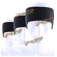Спортивный оголовье Hairband эластичные sweatbands ветрозащитной йоги гимнастики наушники открытый