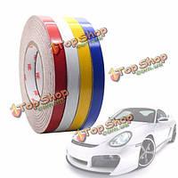 45.7м * 1см автомобиль светоотражающие полосы стикер ленты DIY изменить отделка кузова автомобиля декоративные полосы Пастер синий ре