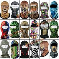 Лыжная маска шеи вязаного шлема мотоцикла покрывает кепку шляпы