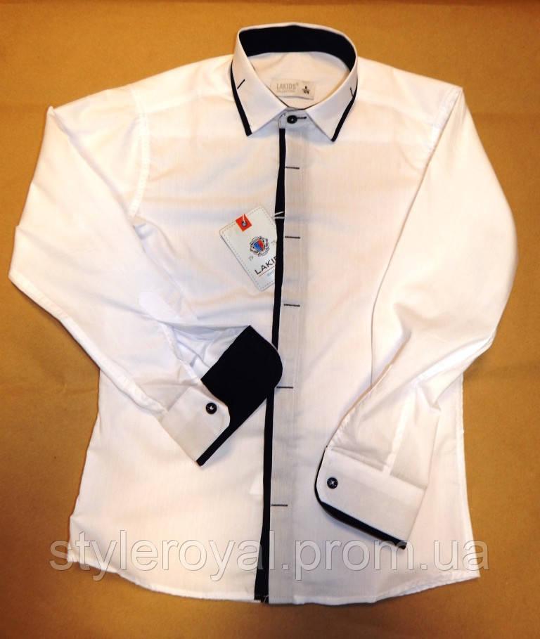 76d098a649a Рубашка Белая для Мальчика 6-9 Лет — в Категории