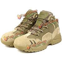 Бесплатный солдата военные тактические ботинки пустыни ЕС бою напольный проезд