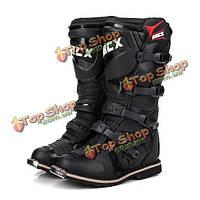 Мотоцикл сапоги профессиональные мотокроссу обувь мужчины водонепроницаемым рАРО