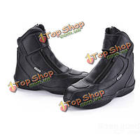 Мужские мотоцикле внедорожных гонок кожаные сапоги для рАРО