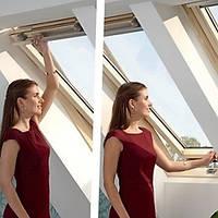 Окно GLR ВТ 78x140 см.Универсальная модель:две ручки