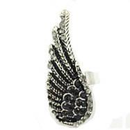 Женское кольцо Крыло ангела