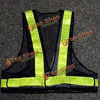 Безопасности дорожного движения жилет шестерни видимости светоотражающие безопасности