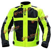 Мужчины гонки на мотоциклах спортивные велосипедные мотоциклетные куртки светоотражающий жилет
