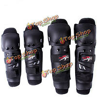 Мотоцикл спорт гонки защитные колена локоть прокладки наборы для про байкеров