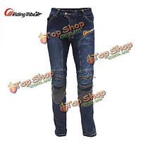 Мото- брюки спортивные брюки джинсы всадника с CE Kneepad верхом племя HP- 05