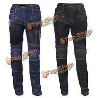 Мото- брюки спортивные брюки джинсы износостойкие с CE Kneepad верхом племя HP-06