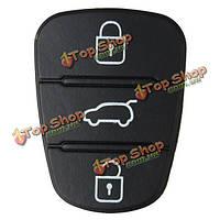 3 Кнопка дистанционного ключа ФОБ деталь корпуса резиновая прокладка для Hyundai I10 ключ флип-i20 i30