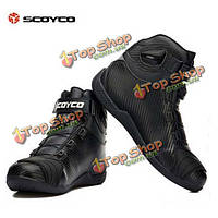 SCOYCO рыцарь по пересеченной местности обувь для верховой езды мотогонок ботинки nbt010