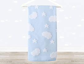 Полотенце детское Irya - Cloud 70*120 голубое