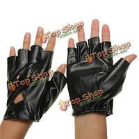 Мото- половины пальцев перчатки без пальцев искусственная кожа круто досуг велоспорт вождения