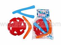 Набор игрушечных бумерангов 3 шт