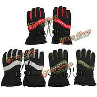 12v теплые перчатки с подогревом тепла внутренний мотоцикл на открытом воздухе лыжными гонками