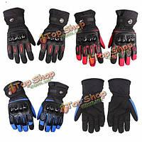 Зима водонепроницаемый мотогонок перчатки для Pro-biker MTV08 продают