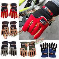 Лыжные мотоцикл спортивная MTB велосипед Велоспорт велосипед полный палец перчатки теплые