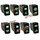 12v зеленый LED ОЕМ замена кнопочный переключатель для Toyota Landcruiser Hilux Prado, фото 2
