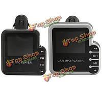 Музыка mp3-плеер FM-передатчик модулятор SD MMC TF USB дистанционного LED дисплей 1.5-дюймовый автомобильный комплект