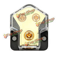 Автомобильная магнитола One в двух сплиттер первом блоке хромом