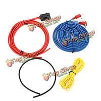 5m автомобильный усилитель наборы линий автомобиля модифицированные стерео провод сабвуфер линии электропередачи