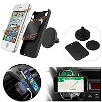 Магнитный универсальный автомобиль вентиляционное отверстие держатель телефона монтажный комплект для iphone Самсунга HTC