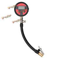 0-200psi металл цифровая шина LCD  манометр воздушный манометр PSI бар кПа кгс/см²