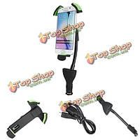 Сигареты автомобиля держатель легче телефон iphone6 6plus samsungs6 поддержки примечание Dual USB портов