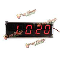 Простые часы термометры автомобильные светодиодные цифровые трубки LED светящиеся часы характер