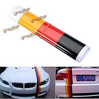 Немецкий флаг стиль авто автомобиль бампер полосы стикер стикеры автомобиля винила
