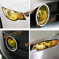 DIY оттенок авто автомобиль фар хвост противотуманных фар лампа виниловая пленка лист обложки