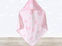 Уголок для купания Irya - Cloud 75*75 розовый