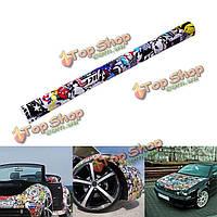 30 X 20-дюймов стикер автомобиля граффити рисунок мультфильм модификация авто поверхность