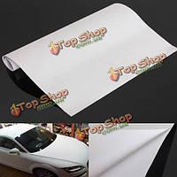 150x30см белый глянец самоклеящаяся виниловая пленка автомобиль стикер оттенок