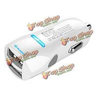 48w 2.4а Dual USB зарядное устройство для iPhone 5 6s сони MP3 mp4 КПК GPS автомобиля