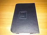 Чехол книжка Lenovo A1000 чёрный - обложка подставка, фото 3