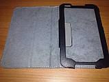 Чехол книжка Lenovo A1000 чёрный - обложка подставка, фото 6