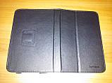 Чехол книжка Lenovo A1000 чёрный - обложка подставка, фото 4