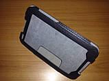 Чехол книжка Lenovo A1000 чёрный - обложка подставка, фото 2