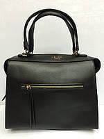 Женская сумка-саквояж Celine, Селин черная ( код: IBG069B )