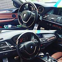 Руль BMW E70 С деревом