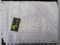 Скатерть на круглый стол 160хQ KAYAOGLU  Star белая