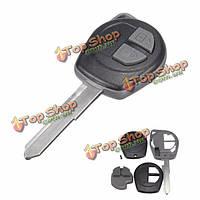 Автомобиль 2 кнопка дистанционного ключа ФОБ деталь корпуса режиссерский лезвие для Suzuki Vauxhall Agila