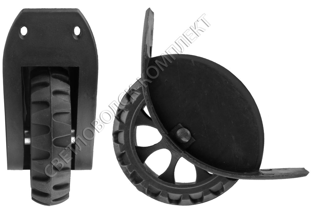 Колеса для чемодана, d=95 мм, ЧМК-117