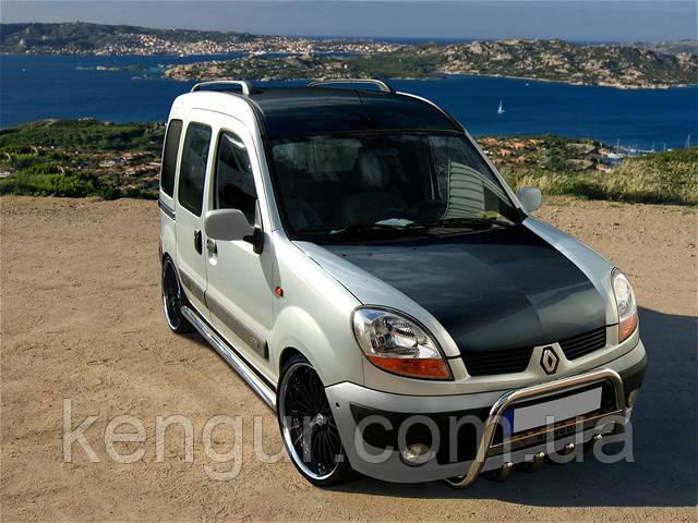Защитные дуги на Renault Kangoo