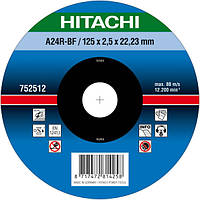 Диск отрезной по металлу A24R Hitachi 752511