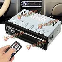 Авто стерео mp3 радио аудиоплеер в тире передатчики FM вход AUX приемника сд USB