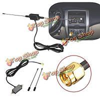5 футов в автомобиль радио антенны цифрового ТВ с усилителем DVB-T ISDB-T 433 сигнала антенны